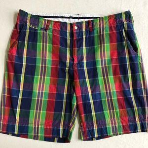 Polo Ralph Lauren India Madras Plaid Shorts 42